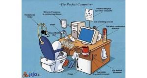 Idealne stanowisko komputerowe