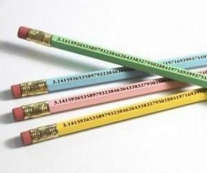 Rozwinięcie pi na ołówkach