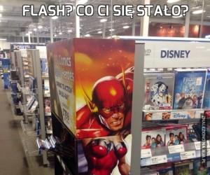 Flash? Co ci się stało?