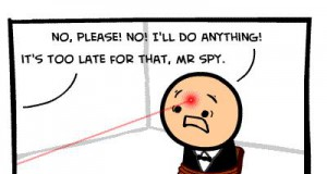 Już po tobie, szpiegu!