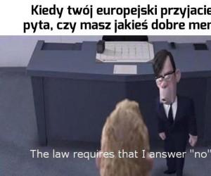 To nielegalne, sorki