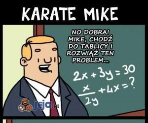 Karate Mike rozwiąże każdy problem