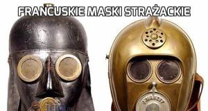 Francuskie maski strażackie
