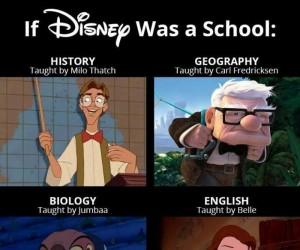 Gdyby świat Disney'a to była Twoja szkoła