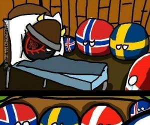 Każdy kraj dostał jakiś spadek