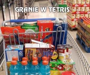 Granie w Tetris