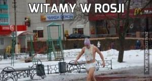 Witamy w Rosji