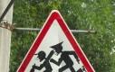 Przeróbka znaku drogowego
