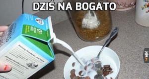 Śniadanie bogaczy