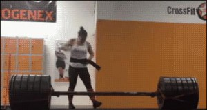 Dziewczyna ma w sobie moc