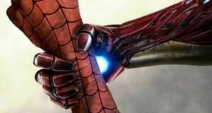 Iron Man i Kapitan Ameryka się jednoczą...