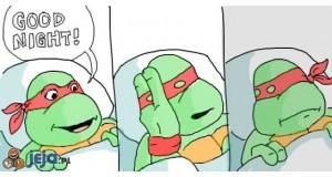 Dobranoc zółwiku