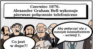 Pierwsze połączenie telefoniczne