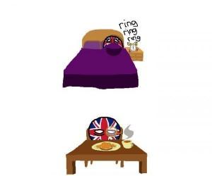 Typowy dzień pracy w Anglii