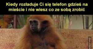 Rozładowany telefon