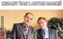 Cezary Żak i Artur Barciś