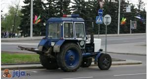 Policyjny traktor