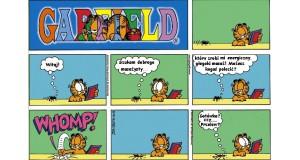 Garfield masażystą