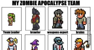 Moja drużyna na apokalipse zombie