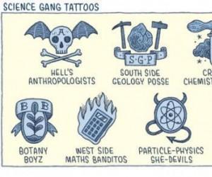 Gangi naukowców oraz ich dziary