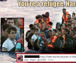 Jesteś uchodźcą, Harry!