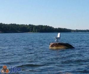 Kibel na wodzie