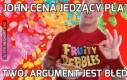 John Cena jedzący płatki