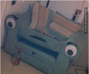 Fotel z ludzką twarzą