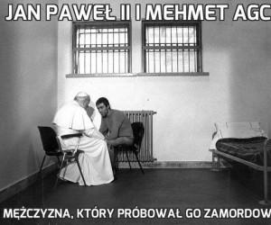 Jan Paweł II i Mehmet Agca