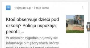 Policja uspokaja