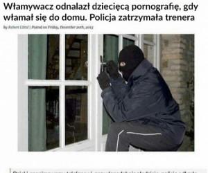 Nie mógł po prostu uciec i zadzwonić anonimowo?