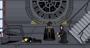Star Wars - wersja 8 bitowa