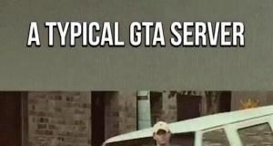 Typowy serwer w GTA Online