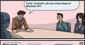 Ulepszanie Windows 10