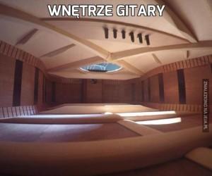 Wnętrze gitary