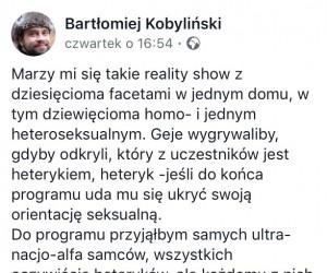 Idealne reality show nie istnie...