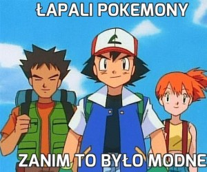 Łapali Pokemony
