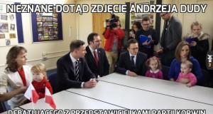 Nieznane dotąd zdjęcie Andrzeja Dudy