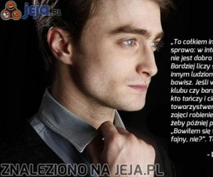 Harry Potter ma rację