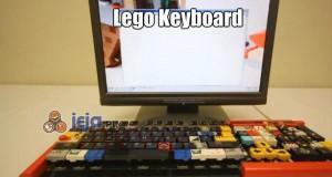 Klwiatura z Lego