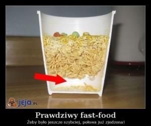 Prawdziwy fast-food
