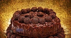 Potrójnie czekoladowy tort