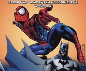 Spider-Man - walczy sam z Juggernautem: wygrywa