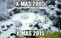 Boże Narodzenie wszędzie bez śniegu