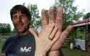 Jeff Dabe - człowiek z największymi rękami na świecie