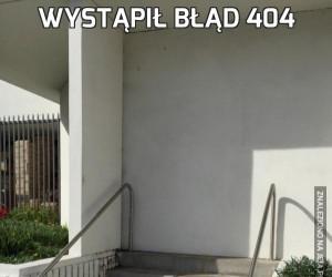 Wystąpił Błąd 404