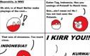 Dlaczego Polandball ma odwrócone kolory