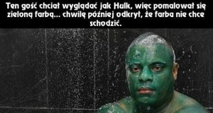 Niesamowity Hulk i inwazja niezmywalnej farby