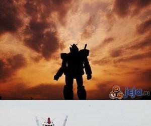 Gundam odwiedził Tokio!