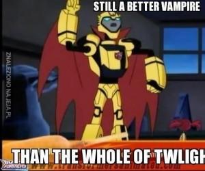 Nadal lepszy wampir, niż te ze Zmierzchu